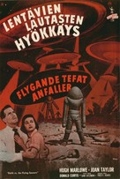 Earth vs. the Flying Saucers - Finnish Movie Poster (xs thumbnail)