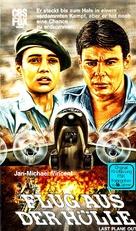 Last Plane Out - German VHS cover (xs thumbnail)