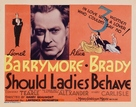 Should Ladies Behave - Movie Poster (xs thumbnail)