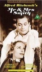 Mr. & Mrs. Smith - British Movie Cover (xs thumbnail)