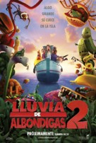 Cloudy with a Chance of Meatballs 2 - Spanish Movie Poster (xs thumbnail)