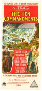 The Ten Commandments - Australian Movie Poster (xs thumbnail)
