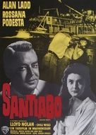 Santiago - German Movie Poster (xs thumbnail)