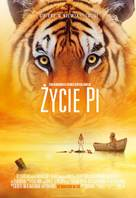 Life of Pi - Polish Movie Poster (xs thumbnail)