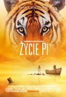 Life of Pi - Polish Movie Poster (xs thumbnail)
