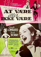 To Be or Not to Be - Danish Movie Poster (xs thumbnail)