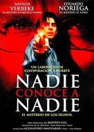 Nadie conoce a nadie - Argentinian poster (xs thumbnail)