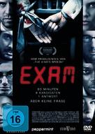 Exam - German DVD movie cover (xs thumbnail)