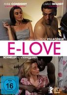 E-love - German DVD movie cover (xs thumbnail)