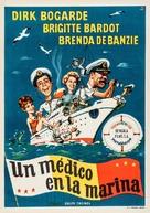 Doctor at Sea - Spanish Movie Poster (xs thumbnail)