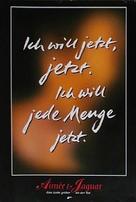 Aimée & Jaguar - German Movie Poster (xs thumbnail)