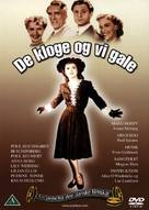 De kloge og vi gale - Danish DVD cover (xs thumbnail)