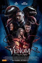 Venom: Let There Be Carnage - Australian Movie Poster (xs thumbnail)
