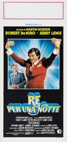 The King of Comedy - Italian Movie Poster (xs thumbnail)