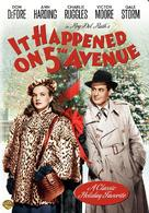 It Happened on 5th Avenue - DVD cover (xs thumbnail)