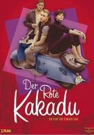 Der rote Kakadu - German DVD cover (xs thumbnail)