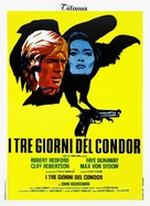 Three Days of the Condor - Italian Theatrical poster (xs thumbnail)