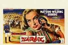 Zarak - Belgian Movie Poster (xs thumbnail)