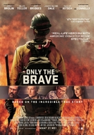 Only the Brave - Dutch Movie Poster (xs thumbnail)