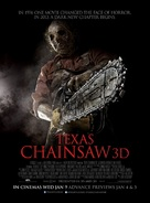 Texas Chainsaw Massacre 3D - British Movie Poster (xs thumbnail)