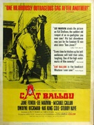 Cat Ballou - Movie Poster (xs thumbnail)