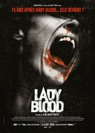 Lady Blood - French Movie Poster (xs thumbnail)