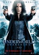 Underworld: Awakening - British Movie Poster (xs thumbnail)