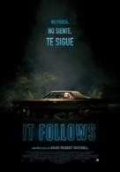 It Follows - Spanish Movie Poster (xs thumbnail)