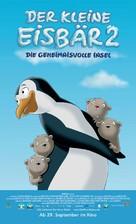 Der kleine Eisbär 2 - Die geheimnisvolle Insel - German poster (xs thumbnail)