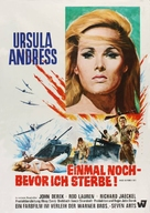 Once Before I Die - German Movie Poster (xs thumbnail)