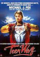 Teen Wolf - German Movie Poster (xs thumbnail)
