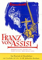 Francis of Assisi - German Movie Poster (xs thumbnail)