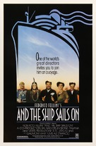 E la nave va - Movie Poster (xs thumbnail)