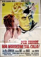 Dance of the Vampires - Italian Movie Poster (xs thumbnail)