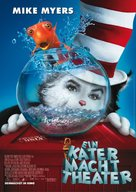 The Cat in the Hat - German Movie Poster (xs thumbnail)