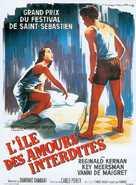L'isola di Arturo - French Movie Poster (xs thumbnail)