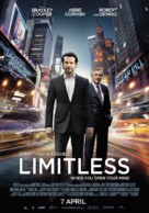Limitless - Dutch Movie Poster (xs thumbnail)