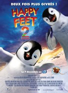 Happy Feet Two - French Movie Poster (xs thumbnail)