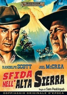 Ride the High Country - Italian DVD movie cover (xs thumbnail)