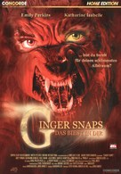 Ginger Snaps - German DVD movie cover (xs thumbnail)