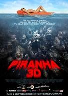 Piranha - Romanian Movie Poster (xs thumbnail)