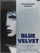Blue Velvet - French Movie Poster (xs thumbnail)