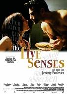 The Five Senses - German poster (xs thumbnail)