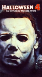 Halloween 4: The Return of Michael Myers - VHS movie cover (xs thumbnail)