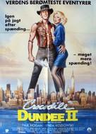 Crocodile Dundee II - Danish Movie Poster (xs thumbnail)
