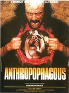 Antropophagus - French Movie Poster (xs thumbnail)