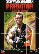 Predator - Danish Movie Cover (xs thumbnail)