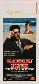 Barton Fink - Italian Movie Poster (xs thumbnail)