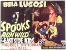 Spooks Run Wild - Movie Poster (xs thumbnail)
