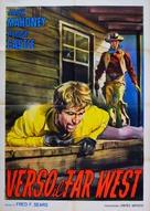 Overland Pacific - Italian Movie Poster (xs thumbnail)